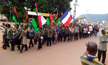 We'll break-away with every part of Biafra; South-South a creation of Northern leaders - IPOB t